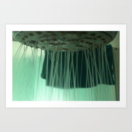 Shower Art Print