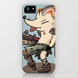 Boom Rat iPhone Case