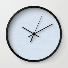 Simply Sky Blue Wall Clock