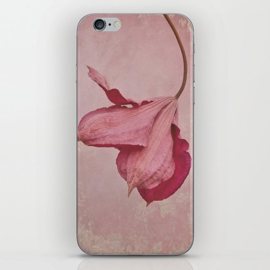 antique pink iPhone & iPod Skin