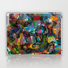 Every thought can change the day when let out in joyful play Laptop & iPad Skin