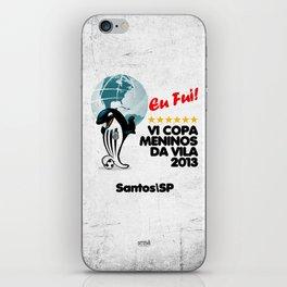 VI Copa Meninos da Vila - Eu Fui! iPhone Skin