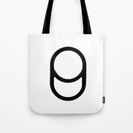 Blurry Cylinder Tote Bag