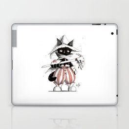 Black Mage Black Cat Laptop & iPad Skin