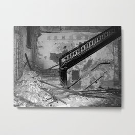 Elegance, urban exploration Metal Print