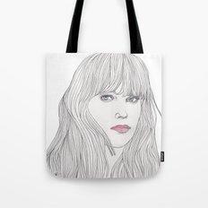 Pastel Girl 1 Tote Bag