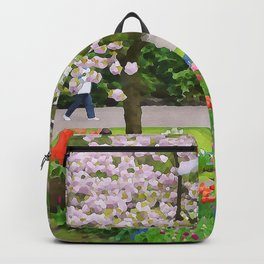 Park painted Backpack