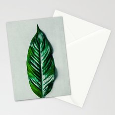Green Leaf 1 Stationery Cards