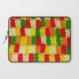 Colorful gummi bears Laptop Sleeve