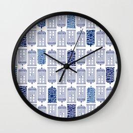 Tardis Tardis Tardis Wall Clock