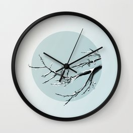 East Wind Melts the Ice Wall Clock