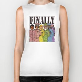 Ability to assemble openly gay, mixed race, mixed gender armed forces Biker Tank