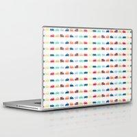 cars Laptop & iPad Skins featuring Cars by Yasmina Baggili