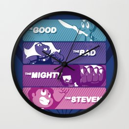 The Good, The Bad, The Mighty and The Steven Wall Clock