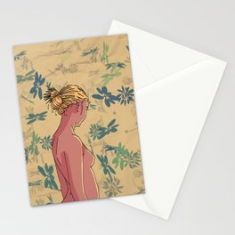 Woman #3 Stationery Cards