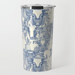 just ox classic blue pearl Travel Mug
