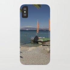 Ipsos beach iPhone X Slim Case
