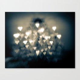 amour brûlant Canvas Print