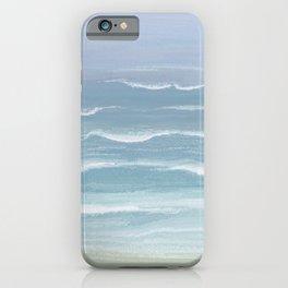 Seashore Small Waves iPhone Case