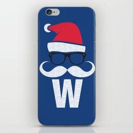 Fly the W Santa iPhone Skin