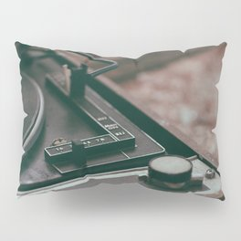 Vintage turntable Pillow Sham