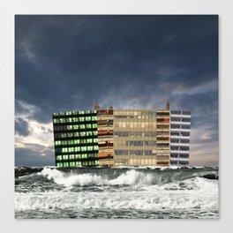 atmosphere · wave of multilation Canvas Print