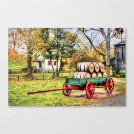 Bourbon Canvas Print