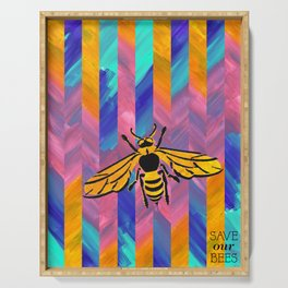 Save Our Bees No. 1 Serving Tray