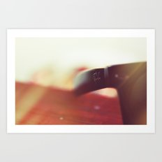 Sunglasses in the Sun Art Print