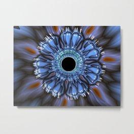 Flower Fractal Metal Print