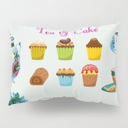 Tea & Cake Pillow Sham