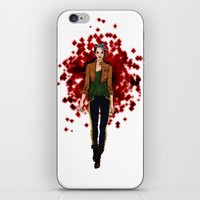 rogue iPhone & iPod Skins featuring Rogue by DiegoC
