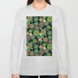 Succulents Long Sleeve T-shirt
