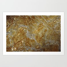 Marble Texture 8 Art Print