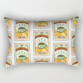That's the TEA, sis tarot card Rectangular Pillow
