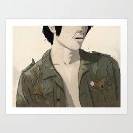 Smokey & the Jacket II Art Print