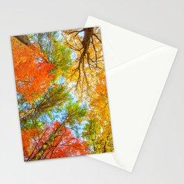 Foliage Aflame Stationery Cards