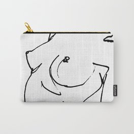 Nude drawing Carry-All Pouch