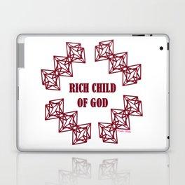 Rich Child of God (Prosperity) - Rasha Stokes Laptop & iPad Skin