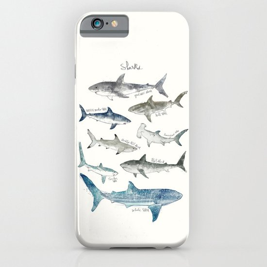 Sharks iPhone & iPod Case