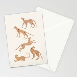 Cheetah Spot Stationery Cards