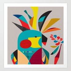 Cockatoooo Art Print