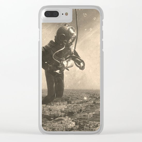Underwater City Clear iPhone Case