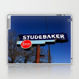 STUDEBAKER LOT SIGN Laptop & iPad Skin