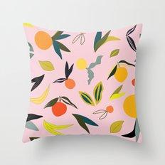 Valencia in Blush Throw Pillow