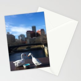 The Geese + Downtown Omaha Stationery Cards