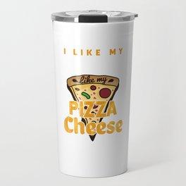 Pizza Cheese Travel Mug