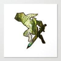 zelda Canvas Prints featuring ZELDA by Loris Ori