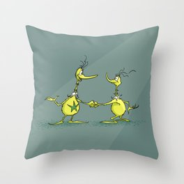 Sneetches  Throw Pillow