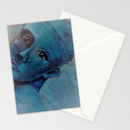Ink on Altered Image Stationery Cards